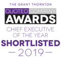 chief executive of the year award logo
